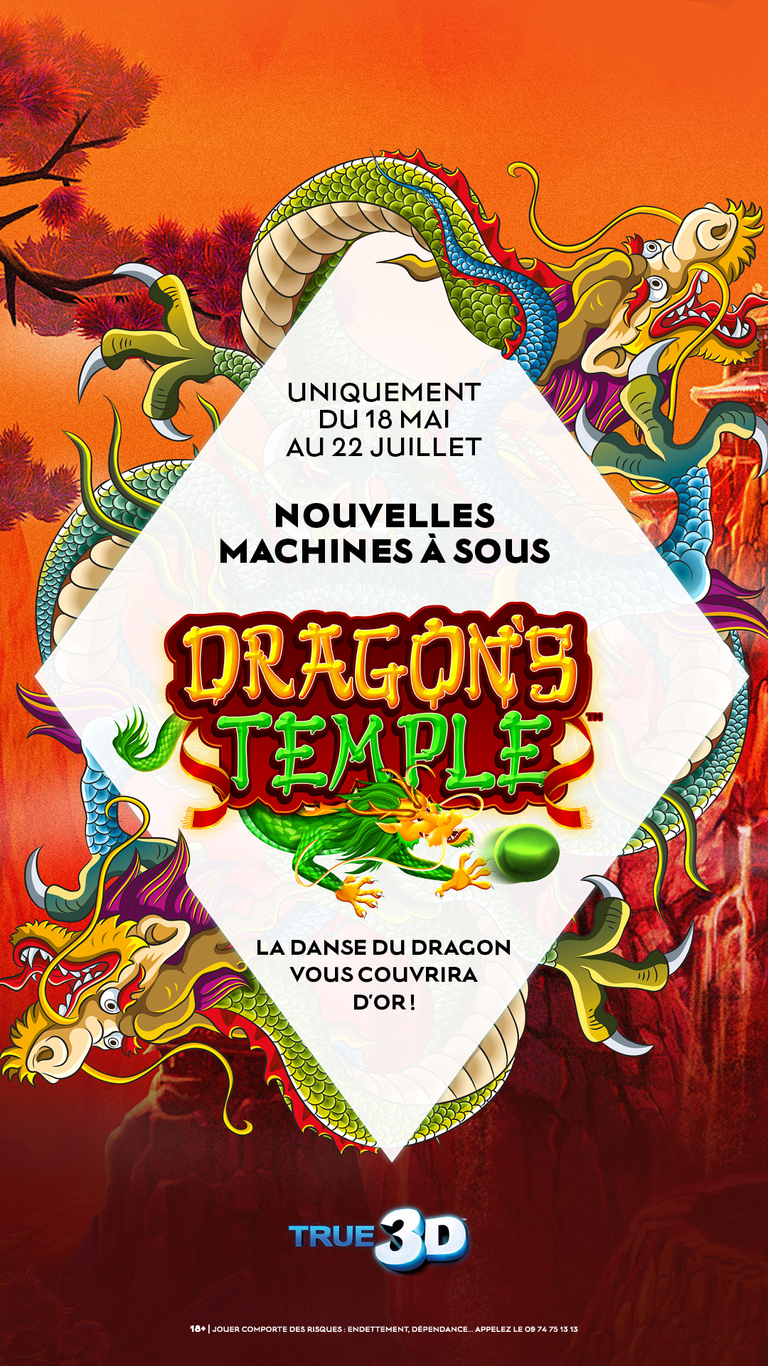 machine a sous dragon